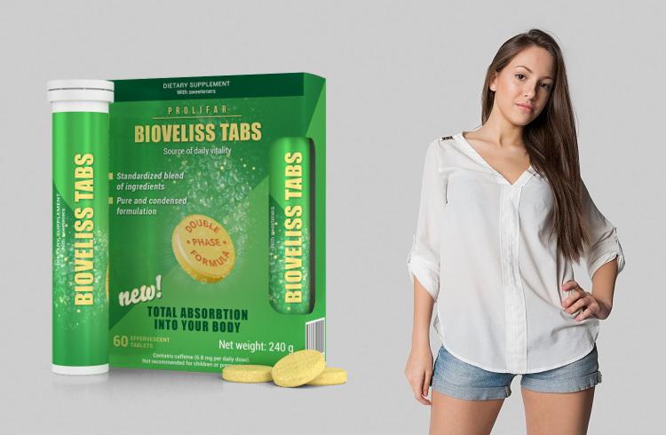 Bioveliss Tabs – vaistinė, kur pirkti, atsiliepimai, kaina