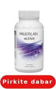 Multilan Active poveikiai