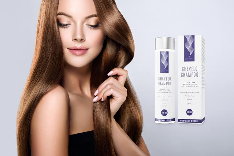 Chevelo Shampoo – kaina,  kur pirkti, poveikiai, testas, ar tai veikia