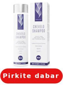 Chevelo Shampoo kur pirkti
