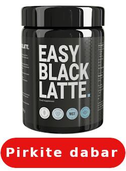 Easy Black Latte kur pirkti